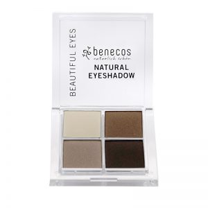 NATURAL QUATTRO EYESHADOW coffee & cream, zertifizierte Naturkosmetik (BDIH)