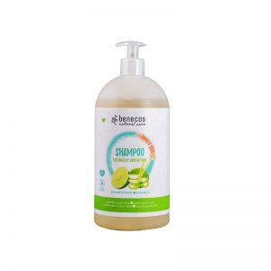 Natural Shampoo FAMILY SIZE Freshness Adventure Limette & Aloe Vera