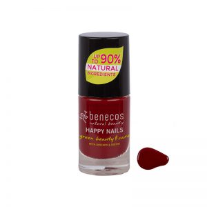 benecos NAIL POLISH cherry red - 8 FREE, 5m